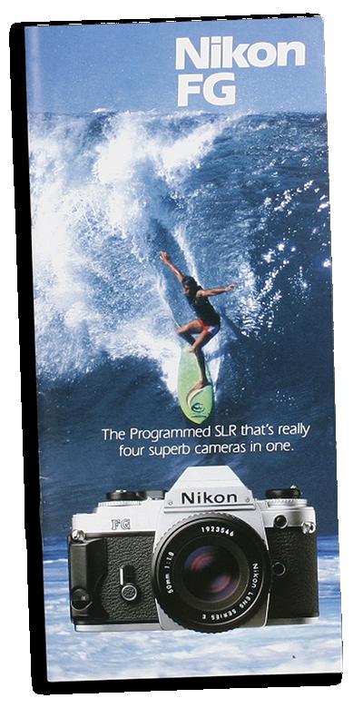 Colección e historia de las cámaras Nikon SLR de enfoque manual